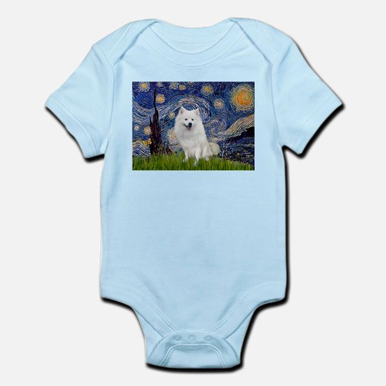 Starry-Am. Eskimo Dog Infant Bodysuit