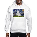 Starry-Am. Eskimo Dog Hooded Sweatshirt