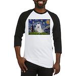 Starry-Am. Eskimo Dog Baseball Jersey