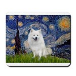 Starry-Am. Eskimo Dog Mousepad