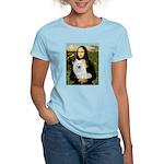 MonaLisa-AmEskimoDog Women's Light T-Shirt