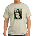 MonaLisa-AmEskimoDog Light T-Shirt