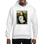 MonaLisa-AmEskimoDog Hooded Sweatshirt