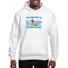 columbus surfed 2 Hoodie