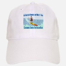columbus surfed 2 Baseball Baseball Cap