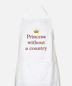 Princess Without Country BBQ Apron