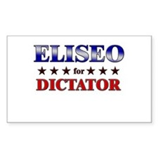 ELISEO for dictator Rectangle Decal