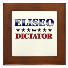 ELISEO for dictator Framed Tile