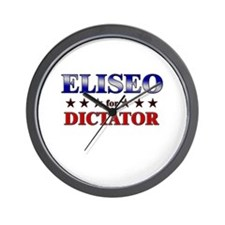 ELISEO for dictator Wall Clock