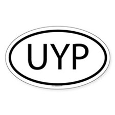UYP Oval Decal