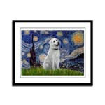 Starry-AnatolianShep1 Framed Panel Print