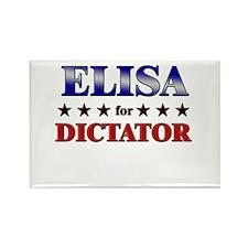 ELISA for dictator Rectangle Magnet