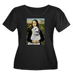 MonaLis-Anatolian Shep1 Women's Plus Size Scoop Ne