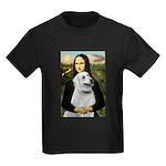 MonaLis-Anatolian Shep1 Kids Dark T-Shirt