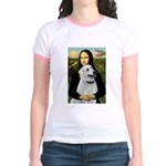 MonaLis-Anatolian Shep1 Jr. Ringer T-Shirt