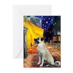 Cafe-AnatolianShep2 Greeting Cards (Pk of 20)