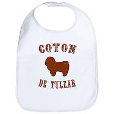 Coton de Tulear Bib