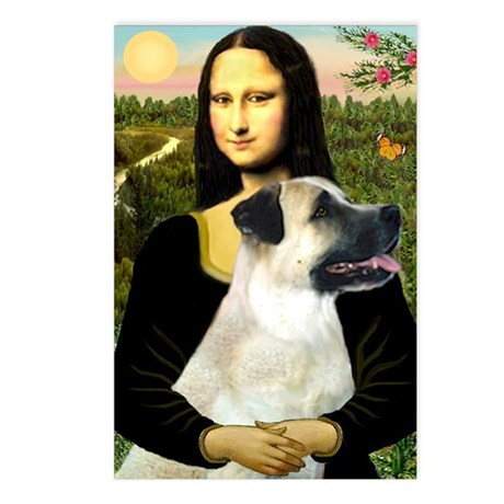 MonaLisa-AnatolianShep2 Postcards (Package of 8)