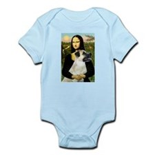 MonaLisa-AnatolianShep2 Infant Bodysuit