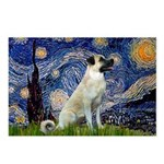 Starry-AnatolianShep 2 Postcards (Package of 8)