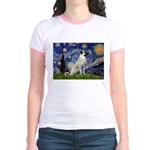 Starry-AnatolianShep 2 Jr. Ringer T-Shirt