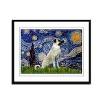 Starry-AnatolianShep 2 Framed Panel Print