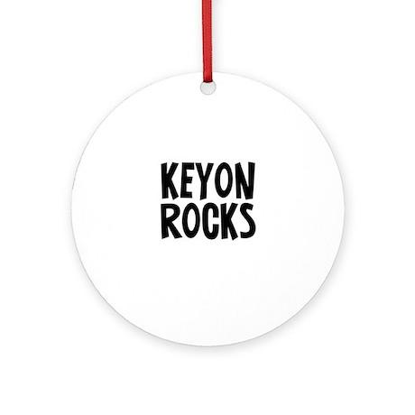 Keyon Rocks Ornament (Round)