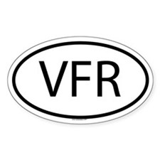 VFR Oval Decal