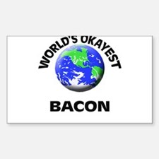 World's Okayest Bacon Decal