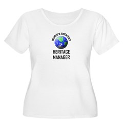World's Greatest HERITAGE MANAGER T-Shirt