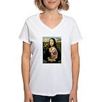 Mona / Australian T Women's V-Neck T-Shirt