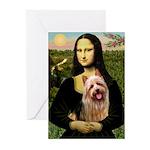 Mona / Australian T Greeting Cards (Pk of 10)