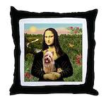 Mona / Australian T Throw Pillow