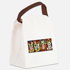 Sugar Skulls Mug Wrap Around.jpg Canvas Lunch Bag