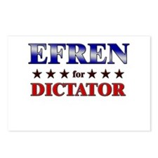 EFREN for dictator Postcards (Package of 8)