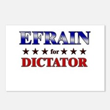 EFRAIN for dictator Postcards (Package of 8)