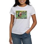 Irises - Aussie Terrier Women's T-Shirt
