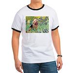 Irises - Aussie Terrier Ringer T
