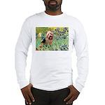 Irises - Aussie Terrier Long Sleeve T-Shirt