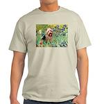 Irises - Aussie Terrier Light T-Shirt