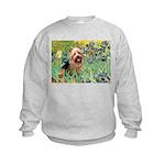 Irises - Aussie Terrier Kids Sweatshirt