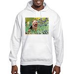 Irises - Aussie Terrier Hooded Sweatshirt
