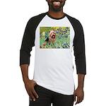 Irises - Aussie Terrier Baseball Jersey