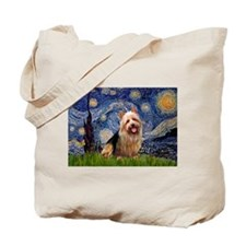 Starry-AussieTerrier Tote Bag