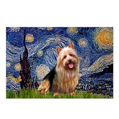 Starry-AussieTerrier Postcards (Package of 8)