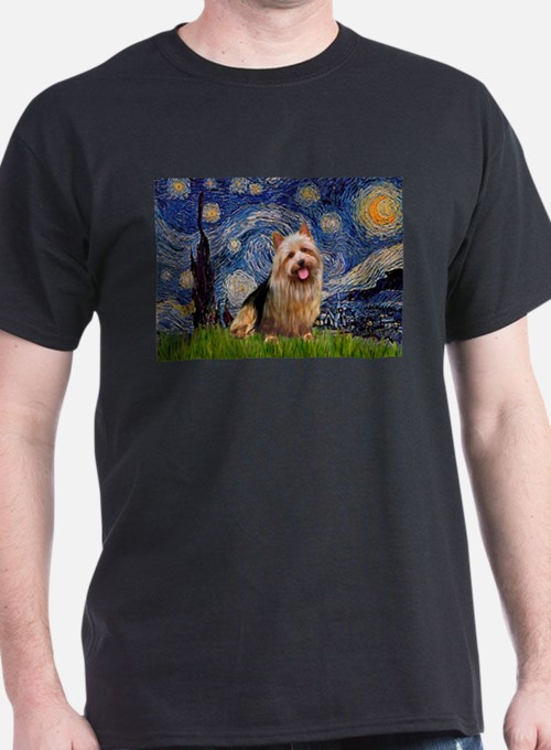 Starry-AussieTerrier T-Shirt