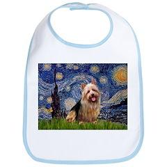 Starry-AussieTerrier Bib