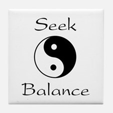 Seek Balance Tile Coaster