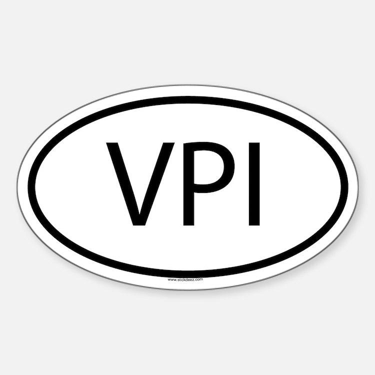 VPI Oval Decal