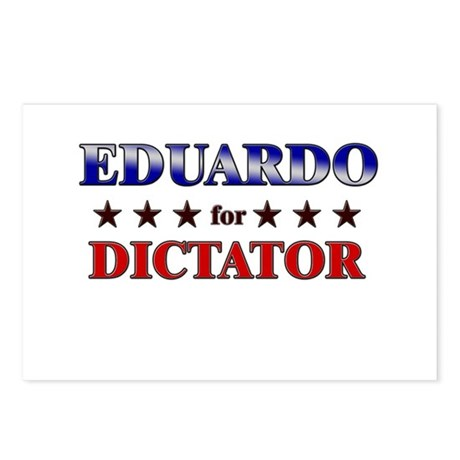 EDUARDO for dictator Postcards (Package of 8)